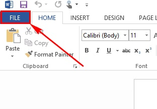change word to powerpoint 2013