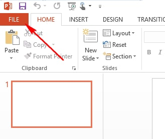 Guide to convert word to powerpoint 2013