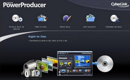 Edit video with CyberLink PowerProducer