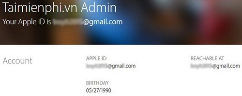 I have an apple id