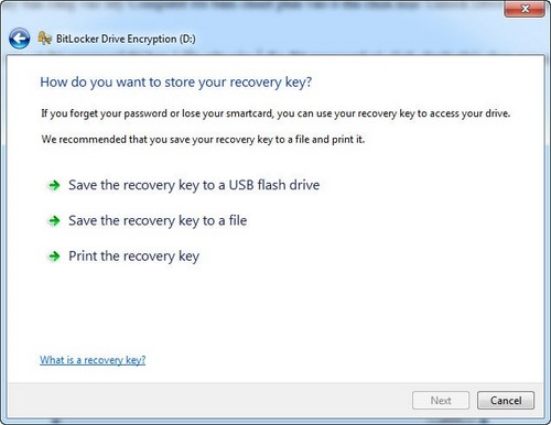 Create a password for Windows 7