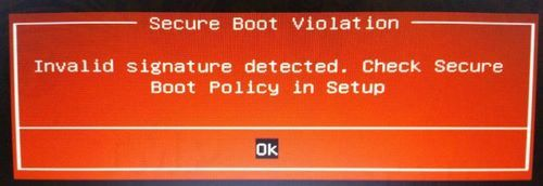 How to disable Secure Boot on bios 2