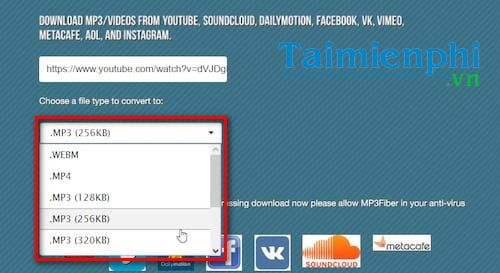 mp3 music from youtube without the user