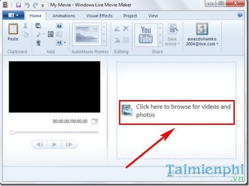 how to fix iphone mov bang windows live movie maker