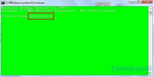 Wait quickly in the command prompt