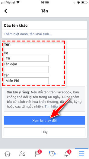 how to change facebook to 5 lan