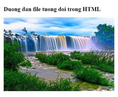 file path in html 11
