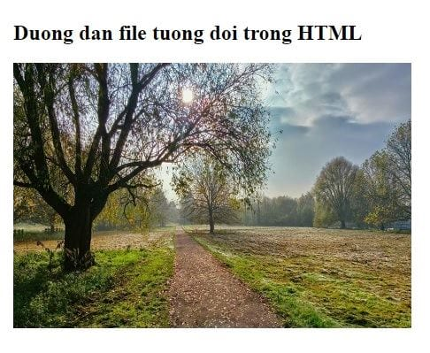 file path in html 9