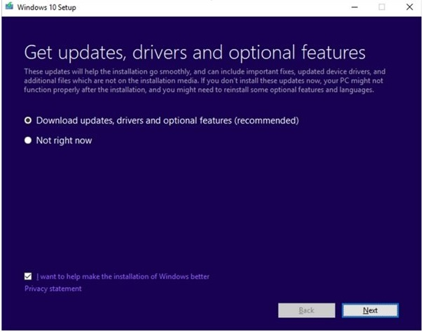What is dynamic updates on Windows 10?
