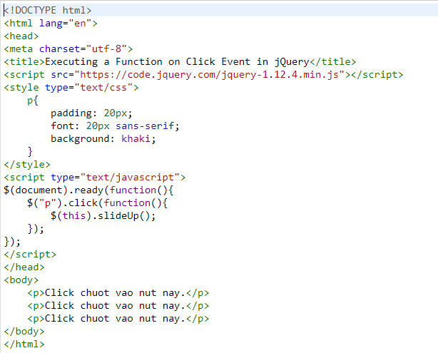 events in jquery 2
