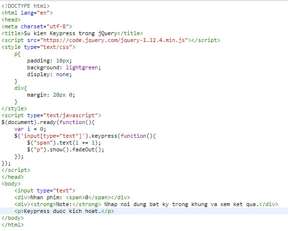 events in jquery 12