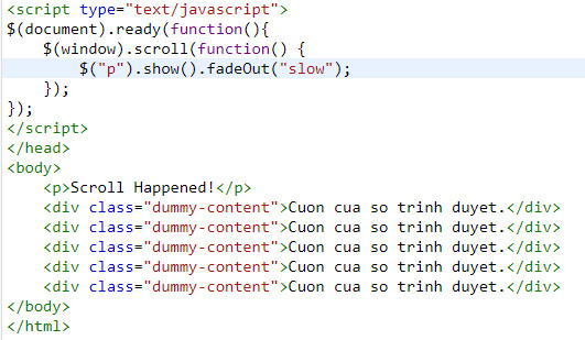 Events in jquery 30
