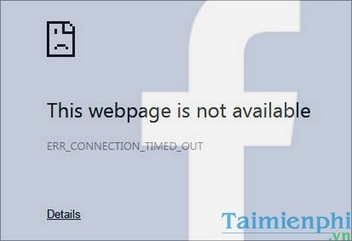 Can not access Facebook
