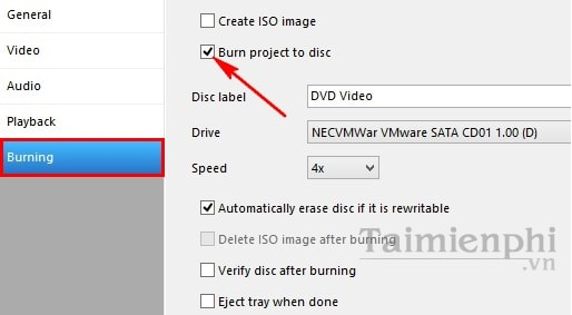 Burn dvd from wmv file with DVDFlick