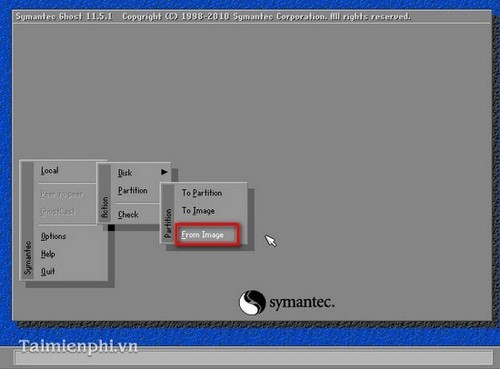 how to ghost win 7, ghost windows 7 bang dia hiren boot's cd