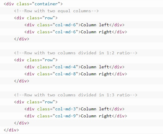 grid system in bootstrap 2