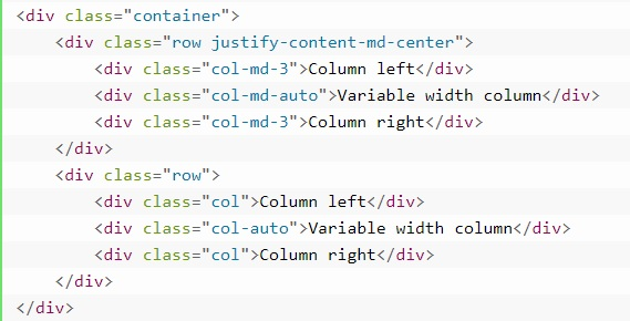 grid system in bootstrap 12
