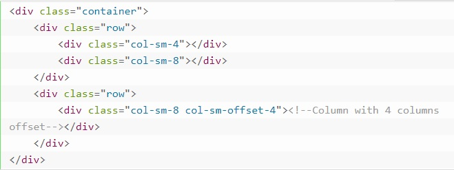 grid system in bootstrap 19