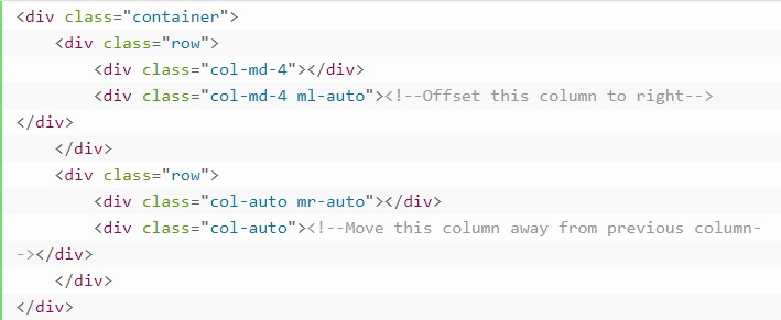 grid system in bootstrap 20
