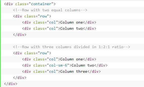 grid system in bootstrap 5
