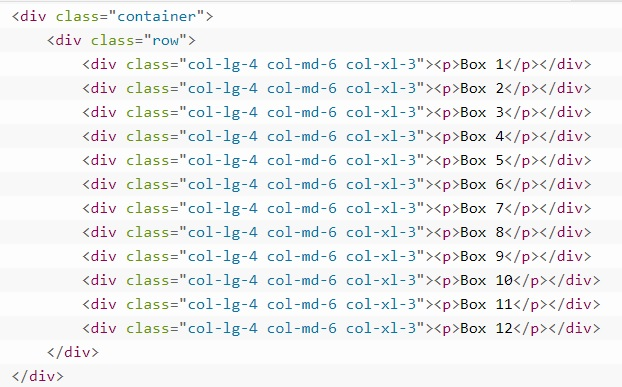grid system in bootstrap 10