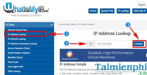 how to check ip of which country is using 2