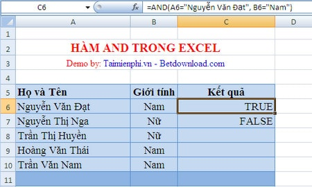 computing in excel