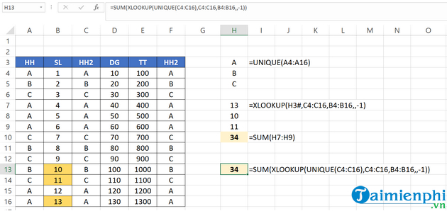 Look at how to use Excel in Excel 8