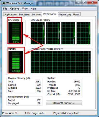 Display data usage on windows 4