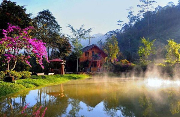The pictures of beautiful Vietnamese scenery
