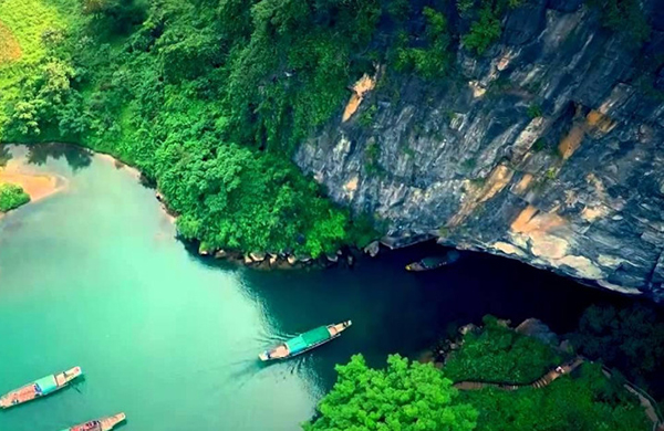 The beauty of nature in Vietnam