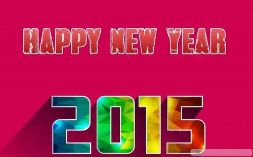 Full HD wallpapers to welcome the new year 2015 for computers