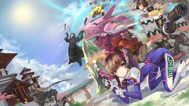 Overwatch wallpaper more beautiful than 15