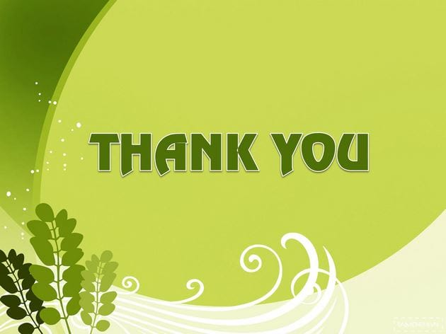 Powerpoint wallpaper thank you thank you for your final slide 14