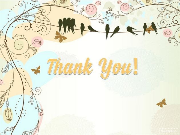Powerpoint wallpaper thank you thank you for finishing slide 16