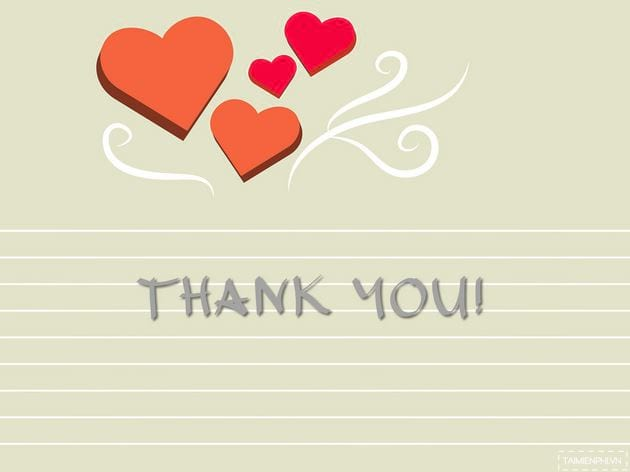 Powerpoint wallpaper thank you thank you for finishing slide 19