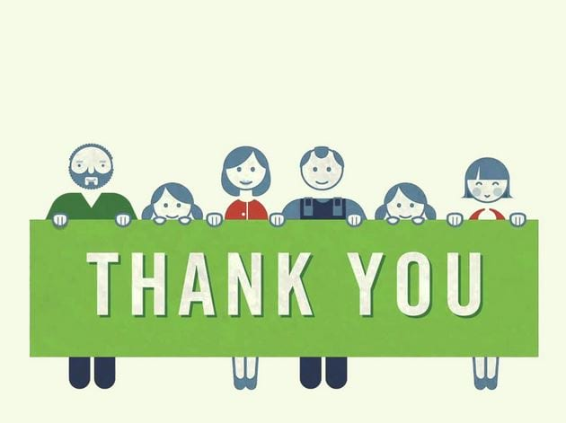 Powerpoint wallpaper thank you thank you for finishing slide 7