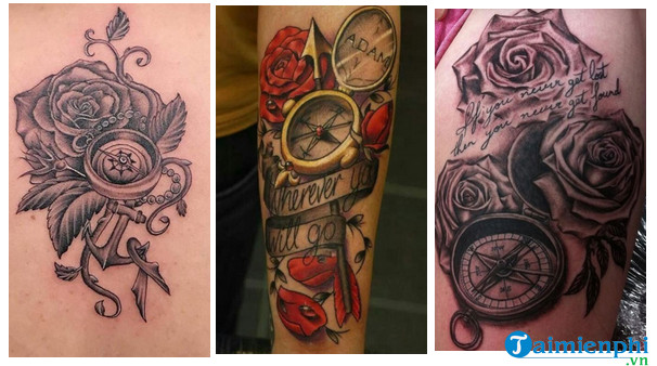 Tattoos and roses