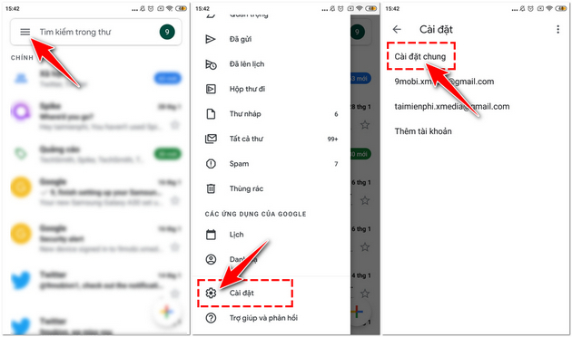 How to set my phone number on gmail on android ios 3