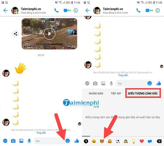How to change the interface to dark mode on messenger 3