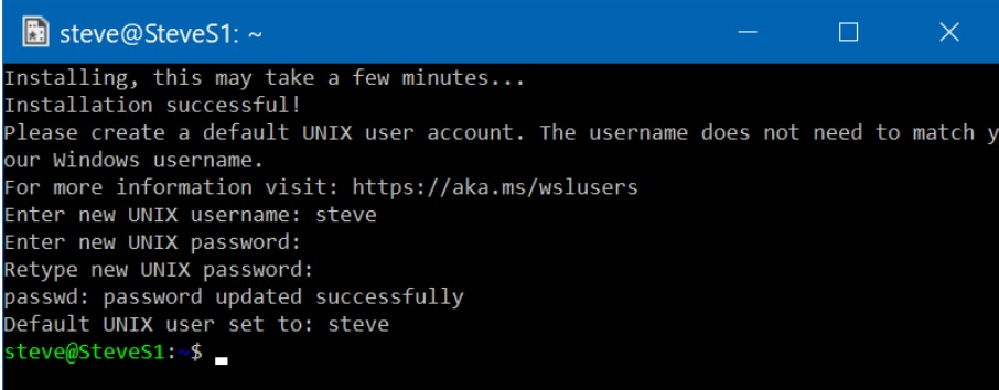 how to install linux linux on windows 10 5