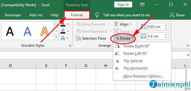 How to insert textbox in Excel 6