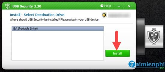 How to set up a USB password for USB devices 3