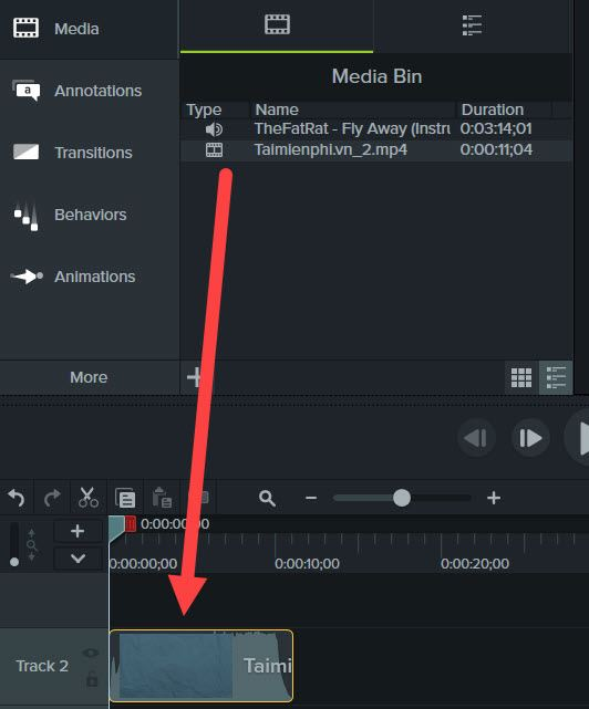 How to put music on a quick video by Time 4