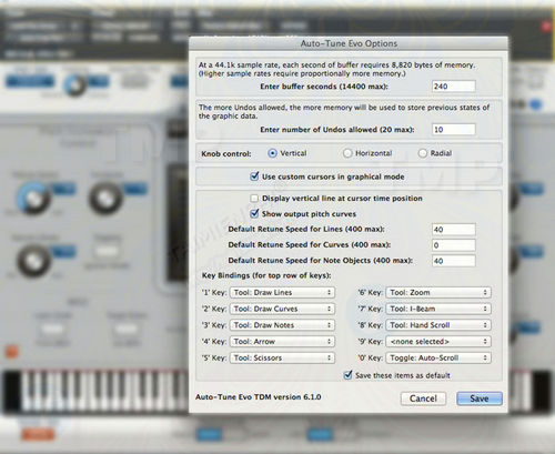 How to use auto tune to make the sound better
