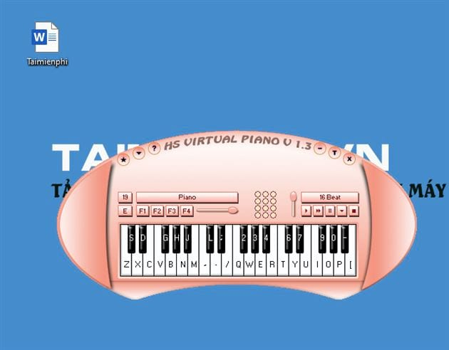 guide and use hs virtual piano 8