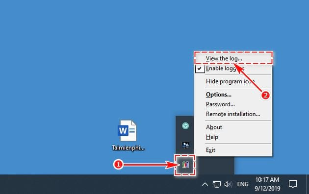 guide and use perfect keylogger 14