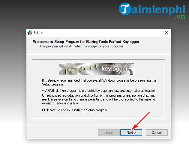 guide and use perfect keylogger 4