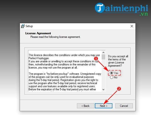 guide and use perfect keylogger 5