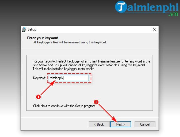 guide and use perfect keylogger 6